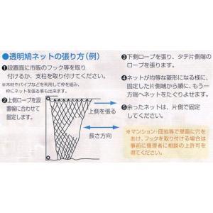 透明 鳩よけネット(2.5mx8m)|ideshokai|03