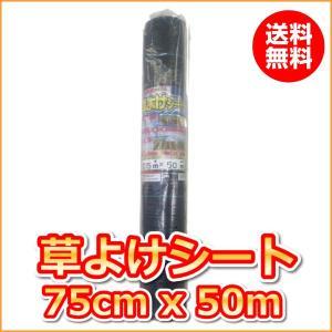 (抗菌剤入)草よけシート (0.75mx50m)(送料込)|ideshokai