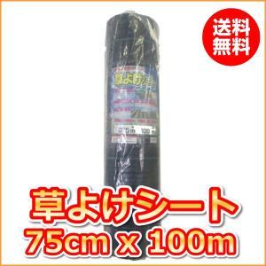 (抗菌剤入)草よけシート (0.75mx100m)(送料込)|ideshokai