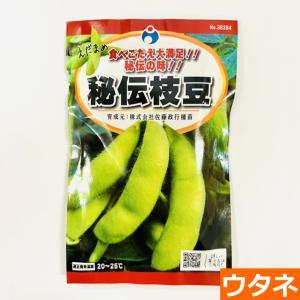 秘伝枝豆(えだまめ)(種:ウタネ) ideshokai