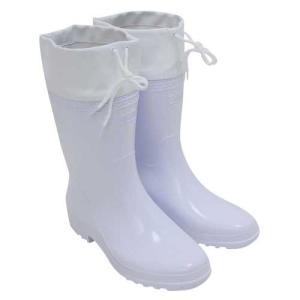(人気商品)セフティ3・刈払作業用長靴 白 中敷付|ideshokai