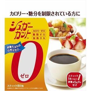 浅田飴  シュガーカット  ゼロ顆粒  1.8gX80包