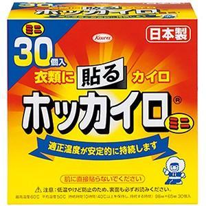興和新薬 ホッカイロ 貼るタイプ ミニ 30個入