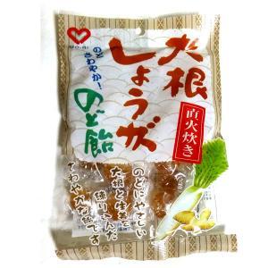 大根しょうが のど飴100g 毛利製菓 の商品画像|ナビ