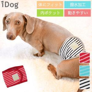 セール 30%OFF 犬用トイレ用品 iDog マナーベルト パイルボーダー アイドッグ メール便OK|idog