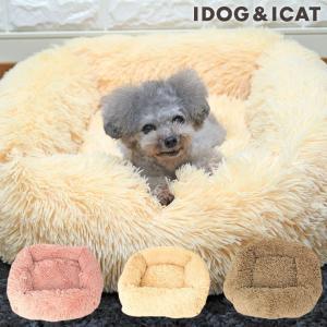 30%OFF 犬 ベッド IDOG&ICAT スクエア シャギーベッド アイドッグ|idog