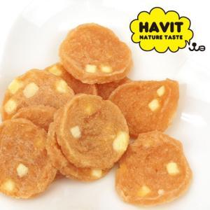 ドッグフード おやつ HAVIT ハビット チーズチキンチップス 50g|idog