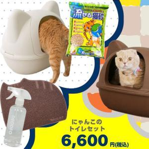 猫用トイレ用品 iCat にゃんこのトイレセット idog
