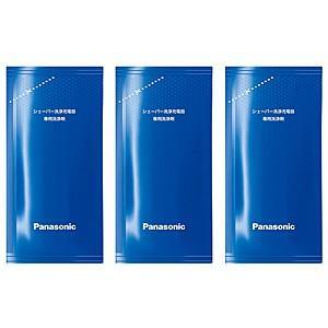 【在庫あり】 ES-4L03 シェーバー洗浄充電器専用洗浄剤 (3個入り) メーカー純正 Panasonic パナソニック|idosawa