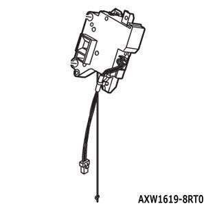 AXW1619-8RT0 フタロックスイッチ Panasonic 洗濯乾燥機用 (NA-VX3300...