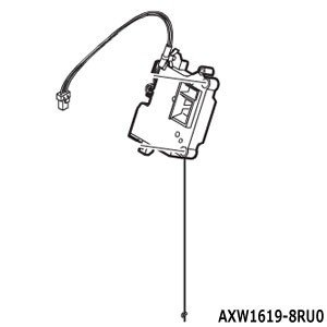 AXW1619-8RU0 フタロックスイッチ Panasonic 洗濯乾燥機用 (NA-VX5300...
