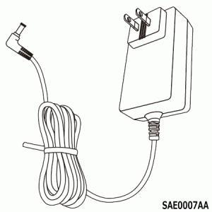【在庫あり】 SAE0007AA プライベート・ビエラ用ACアダプター モニター充電用 (UN-19F5/UN-19F6用) メーカー純正 Panasonic|idosawa