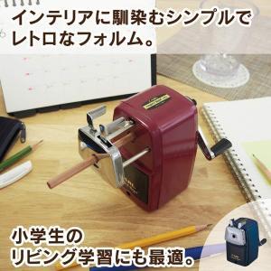 カール事務器 鉛筆削り エンゼル5 ロイヤル 日本製 ブルー A5RY-B|idr-store