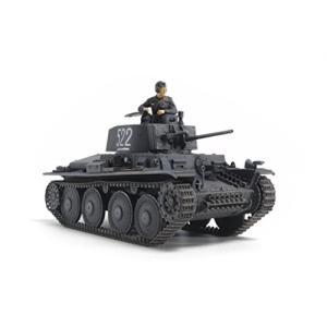 タミヤ 1/48 ミリタリーミニチュアシリーズ No.83 ドイツ陸軍 軽戦車 38 (t) E/F型 プラモデル 32583|idr-store