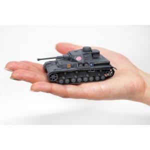 プラッツ ガールズ&パンツァー てのひら戦車道コレクション 4号戦車 F2型 D型改 あんこうチーム 1/72スケール 塗装済み完成品 GP|idr-store