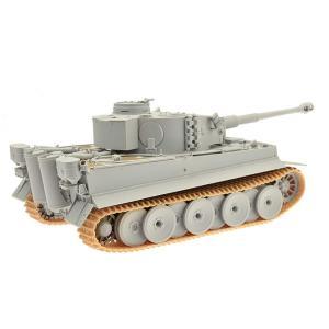 プラッツ 1/35 第二次世界大戦 ドイツ軍 ティーガーI 初期生産型 ミハエル・ヴィットマン プラモデル|idr-store