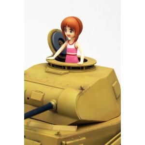 プラッツ ガールズ&パンツァー劇場版 あの夏の2号戦車F型です ~みほとまほの思い出~ 1/35スケール 全長約140mm プラモデル GP|idr-store