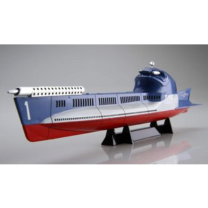 フジミ模型 1/200 ウルトラセブンシリーズ 地球防衛軍海洋潜航艇 ハイドランジャー (T.D.F HR-1 T.D.F HR-2) 2隻|idr-store