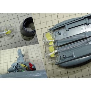 二連装波動砲発光 宇宙戦艦ヤマト アンドロメダ級 1/1000スケール専用フルアクションICチップLED基盤セット バージョンプロ|idr-store