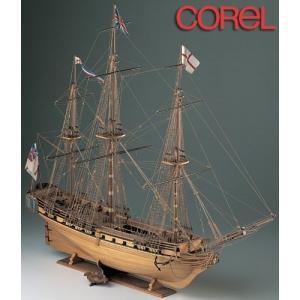 木製帆船模型 コーレル SM11 HMSユニコーン|idr-store