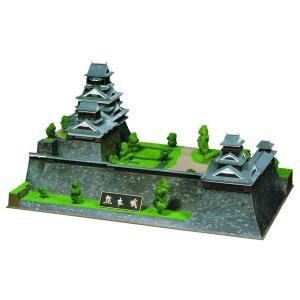 童友社 1/350 日本の名城 DXシリーズ 重要文化財 熊本城 プラモデル DX7 idr-store