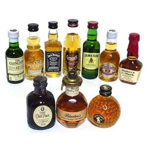 輸入ウイスキー ミニチュアボトル 10本セットvol2 50ml|idr-store