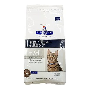 ヒルズ 猫用 z/d 低アレルゲン 食物アレルギー&皮膚ケア ドライ 500g|idr-store