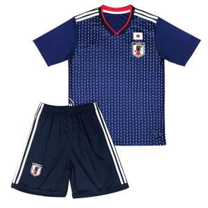 サッカー 日本代表 ホーム レプリカ ユニフォーム ワールドカップ 半袖 Tシャツ ショートパンツ キッズ XS|idr-store
