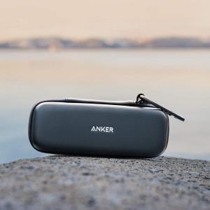 Anker SoundCore / SoundCore 2用 トラベルケース (PUレザー スピーカ...