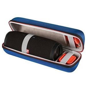JBL Charge 3 ケース カバー バッグ Bluetooth スピーカーケース ナイロン製 ハンドル付き(ブルー)|idr-store