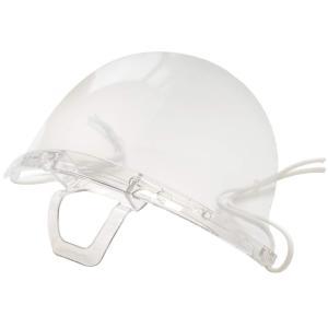透明衛生マスク 繰り返し使える保護用エチケットマスク接客業に最適なマスクです (10個セット)|idr-store
