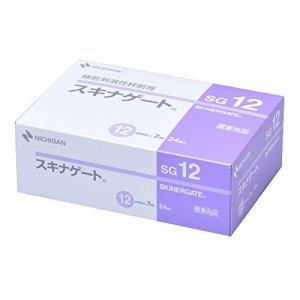 ニチバン 極低刺激性絆創膏 スキナゲート 12mm幅 7m巻き 24巻入り|idr-store