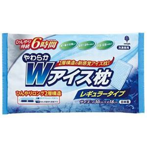 紀陽除虫菊 やわらかWアイス枕レギュラータイプ 冷凍枕1個800g|idr-store