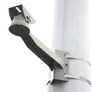 (TUISKU) 防犯カメラ ハウジング ブラケット 取付金具 ポール 円柱 角柱 ステンレスバンド セット 屋外 取り付け 台 アーム (|idr-store