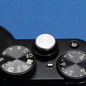 F-Foto ソフトレリーズシャッターボタン フラットタイプ 『各社カメラ対応』 (フラット、シルバ...