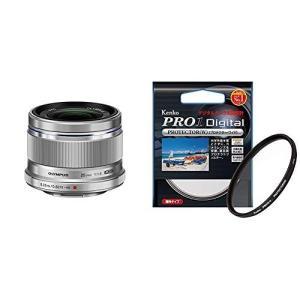 OLYMPUS 単焦点レンズ M.ZUIKO DIGITAL 25mm F1.8 SLV &...
