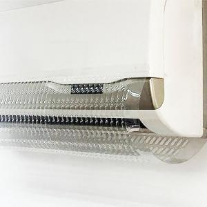 エアコン風よけカバー 冷気発散原理 軽量落下防止 目立たない透明型 液晶表示・制御信号を邪魔せず 冷房暖房 家庭業務通用 風向き調整 すべて idr-store