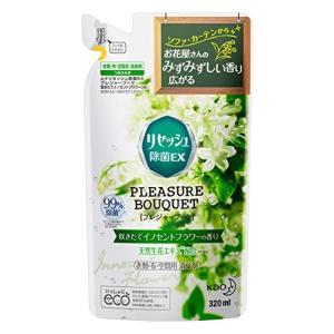 リセッシュ 除菌EX プレジャーブーケ 消臭芳香剤 液体 咲きたてイノセントフラワーの香り 詰替用 320ml|idr-store