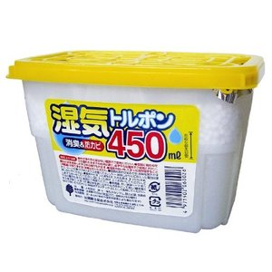 紀陽除虫菊 除湿剤 湿気トルポン 消臭&防カビ (450ml×3個パック)