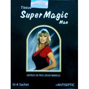 Super Magic Man スーパーマジックマン ウェットティッシュ 並行輸入品|idr-store