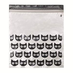 IKEA/イケア 2個セットハロウィン HOSTLOV/ホストローヴ : プラスチック袋(ジップロック)15枚セット ブラック(404.00|idr-store