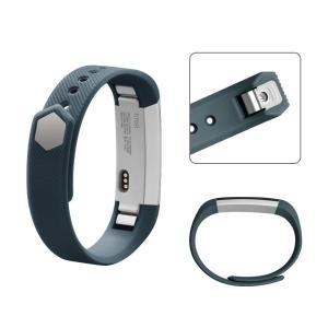Vancle バンド for Fitbit Alta HR/Fitbit Alta 交換バンド ベルト 快適な穴留め式バンド (岩青, S) idr-store