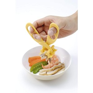 パパジーノ ママも安心 マルチフードカッター オレンジ MFC002