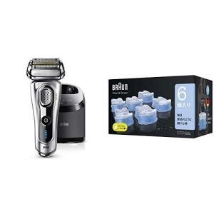 セット買いブラウン メンズ電気シェーバー シリーズ9 9292cc + アルコール洗浄液 (6個入)...