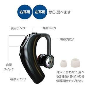 骨伝導耳掛け式 音声拡聴器 「ボン・ボイス」(左耳用) ib-1300 伊吹電子 集音器 充電式 耳かけ|idr-store