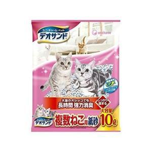 デオサンド 複数ねこ用紙砂5個セット10Lx5pユニ・チャーム|idr-store