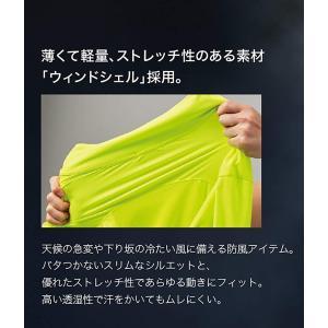 パールイズミ ストレッチ ウィンドシェル 2300 ホワイト 日本 XS (日本サイズXS相当)