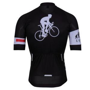 メンズ サイクルウェア サイクルジャージ 半袖ジャージ シャツ サイクリングウェア ロードバイク ウェア レーサーウェア 高弾力 速乾吸汗通|idr-store