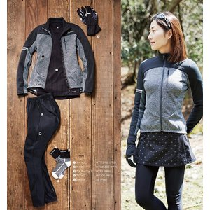 (パールイズミ)PEARL IZUMI W173 サイクル 長袖ドライアンダーシャツ レディース 1 ブラック M|idr-store