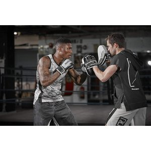 Reebok(リーボック) コンバット ボクシングミット XLサイズ Boxing Mitts - ...